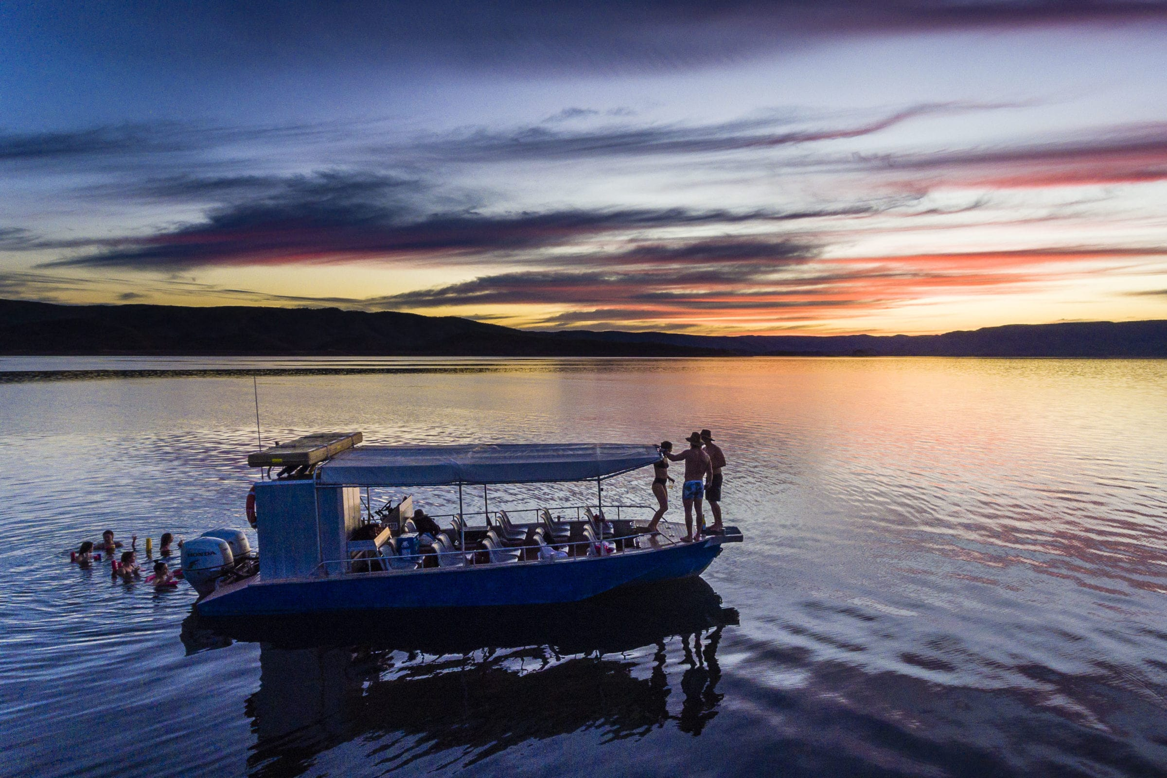 LAKE ARGYLE CRUISES - SUNSET