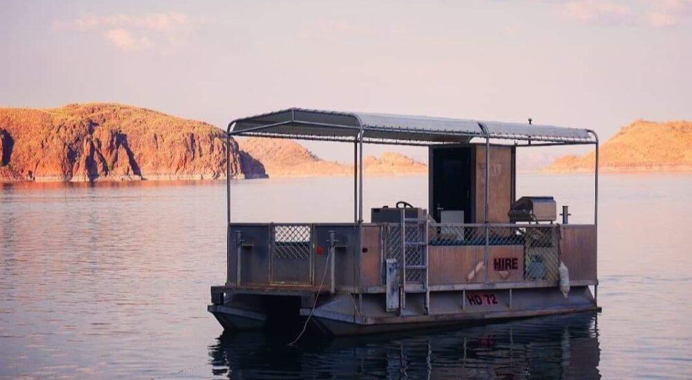 Lake Argyle Cruises - BBQ Pontoon