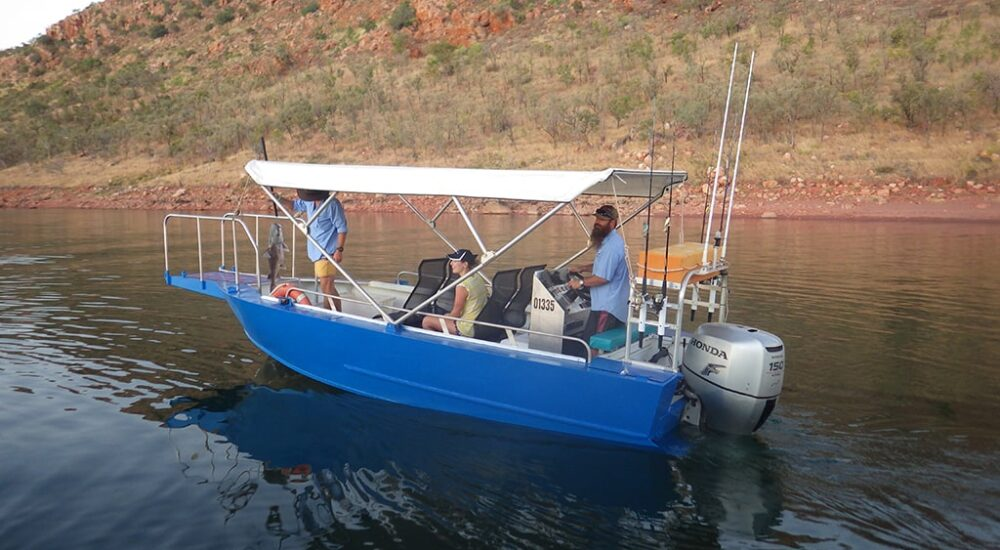 LAKE ARGYLE CRUISES - FISHING