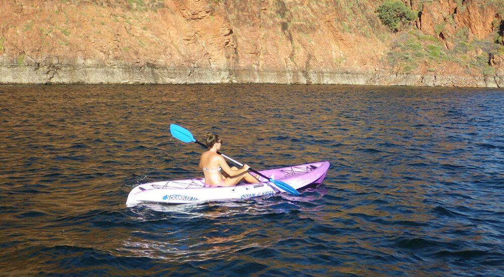 LAKE ARGYLE CRUISES - SIT ON KAYAK HIRE
